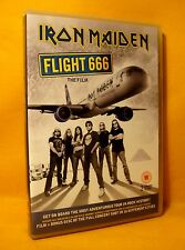 DVD Iron Maiden Flight 666 (The Film) 215 min. (2XCD) 2009 PAL Heavy Metal