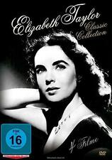 Elizabeth Taylor - Classic Collection (4 Filme) - Titel siehe Text -- DVD