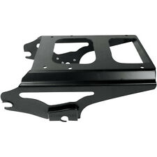BLACK 2-UP DETACHABLE TOUR-PAK MOUNTING RACK NON-LOCKING HARLEY FLT FLH 09-UP