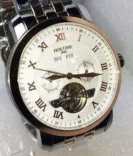 Watch NEW Sport Luxury Solid 316L SS W Proof 5atm HOLUNS Automatic 21 Rubies
