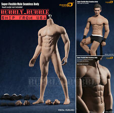 1/6 Phicen PL2016-M33 Flexible Seamless Male Muscular Steel Skeleton Figure USA