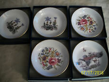 Five MIB Royal Worcester Bone China Pin Dishes Butter Pats