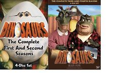 Dinosaurs Complete Series Season 1 2 3 4 DVD SET TV Show Collection Lot Episodes