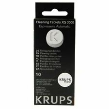 Krups XS3000 Fully Automatic Machines Cleaning Tablets 10 Count Genuine