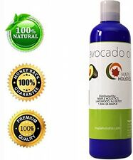 100% Pure Avocado Oil - Deep Tissue Moisturizer For Hair, Face and Skin - Rich