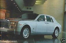 Rolls Royce Phantom launch brochure 2003