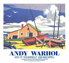 ANDY WARHOL - Do It Yourself (Seascape) RARE EXHIBITION ART PRINT POSTER 30x32.5