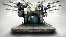 """043 Portal 2 - First Person Puzzle Platform Video Game 25""""x14"""" Poster"""