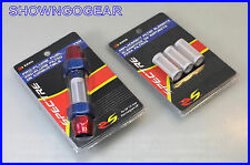 3/8 ANODISED INLINE FUEL FILTER CHEV FORD MOPAR DRAG EARLS SPEEDFLOW AEROMOTIVE