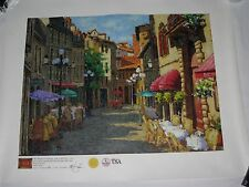 Giclee Print Canvas Art Galleries International Limited with COA