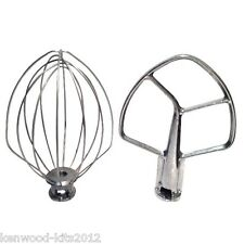 KITCHENAID BURNISHED BEATER & WHISK FOR PROFESSIONAL 5QT BOWL LIFT STAND MIXERS