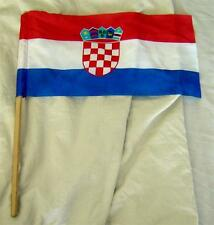 Country Small Flag/banner: FIFA 1998 Football World Cup France: Croatia