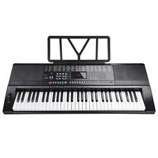 61 Key Electronic Music Keyboard Piano Organ LCD Display w/USB Input & Less