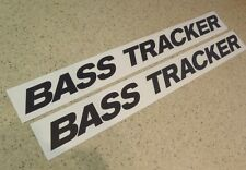 "Bass Tracker Vintage Fishing Boat Decals 18"" 2-PAK FREE SHIP + FREE Fish Decal!"