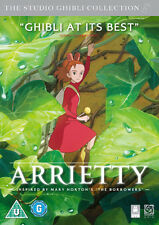 ARRIETTY - DVD - REGION 2 UK