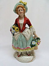 Royal Doulton England Bone China Victorian Lady Figurine rb68