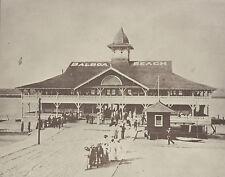 """NEWPORT BEACH Balboa PAVILION Historic Photo Print 973 11"""" x 14"""""""