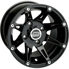 Moose Type 387X Front Wheel - 12x7 - 4+3 Offset - 4/156 - Black,Color: Black