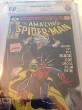 AMAZING SPIDER-MAN 194 CBCS 8.0! OW/W PAGES FIRST BLACK CAT! Not CGC