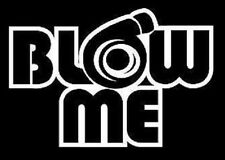 blow me turbo sticker decal vinyl  illmotion JDM import tuner