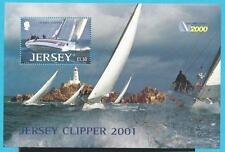 Großb.-Jersey aus 2001 ** postfrisch Block 31 MiNr.995 - Weltumseglung!