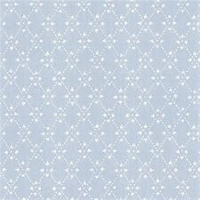 Country Blue Diamond Wallpaper-Double roll