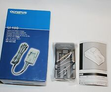 Genuine BOXED OLYMPUS LI-10C  Battery Charger LI10C