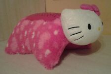 "Hello Kitty Sanrio  Full Size Pillow Pets Dream Lites 13"" Plush Lights Up"