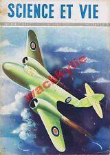 Science et vie n°336 du 09/1945 Bombe atomique Aviation pilotes Mathématiques