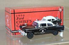 First Gear 19-2284 1956 Ford jefes coche Nashville unidad policial de la 12 Perfecto En Caja Na