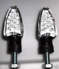 ►4X LED SPEAR SCHWARZ MINIBLINKER  Hond CB900,CB600 HORNET,CX500 TURBO,VTX1300