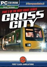 Cross City: West Coast Series (Train Simulator Add-On) PC GAME NEW SEALED