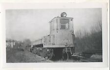 PHILADELPHIA & WESTERN RAILROAD Dump Locomotive Trolley PA 1944 Photograph