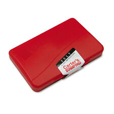 """Avery Reinkable Felt Stamp Pad 2.8"""""""" x 4.3"""""""" Felt Pad Red Ink"""
