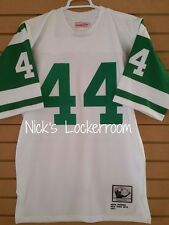 AUTHENTIC Mitchell & Ness 1971 New York Jets John Riggins Throwback Jersey 44