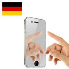 iPhone 4 4S Mirror Display Schutzfolie Spiegelfolie Screen Protector Guard 4G