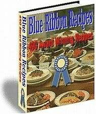 Award Winning Recipes - 490 Blue Ribbon RECIPES From U.S. State Fairs (CD-ROM)