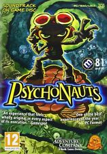Psychonauts Video Game + soundtrack (PC)