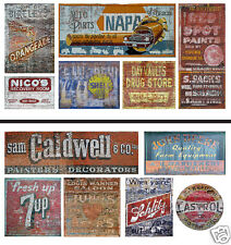 N Scale Ghost Sign 2-Pack #11 - For Weathering Buildings & Structures! SAVE $2