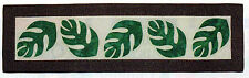 Flowing Leaves Table Runner Quilt Pattern Pieced/Applique LD