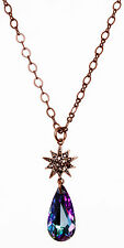 Kirks Folly ASTRAL ROSE GOLD STAR SHIMMER CRYSTAL DREAM NECKLACE ~ New Release