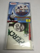 Peel & Stick THOMAS & FRIENDS WALL DECALS!  33 NEW ! NIB (I)