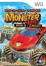 Used Wii Monster 4X4: World Circuit  Nintendo JAPAN  JAPANESE JAPONAIS IMPORT