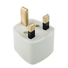 1x Portable US AU EU Europe to UK Power Socket Plug Adapter Travel Converter Y1