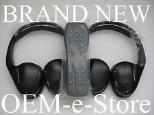 2007 to 2014 GMC Yukon Acadia Sierra Wireless Headphones Set + Remote 100%OEM