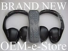 2008 to 2013 GMC Sierra DVD Entertainment System Headphones Set + Remote 100%OEM