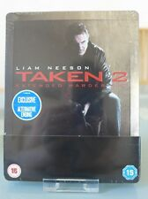 Blu ray steelbook Taken 2 UK exclusive New & Sealed Neuf sans VF