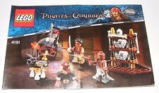 2011 LEGO Pirates of the Caribbean The Captain's Cabin INSTRUCTION MANUAL