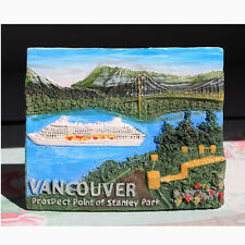 TOURIST SOUVENIR 3D Resin Travel Fridge Magnet  --  Vancouver,Canada