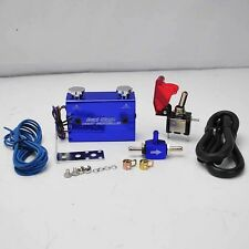 DUAL STAGE SETTING W/ ROCKET SWITCH TURBO WASTEGATE BOOST CONTROLLER BLUE